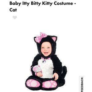 BNWT Baby Itty Bitty Kitty Costume